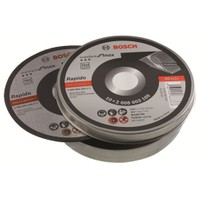 Bosch Rapido 10'lu Paket Inox Standart Seri Kesme Diski 115*1