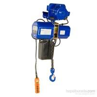 Atlas Atzc14 4 Hareketli Elektrikli Zincirli Vinç Trifaze 380Volt 1 Ton Kapasite