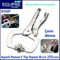 Eclipse E11sp Ayarlı Pense C Tip Klamp Oynak Uçlu 275 Mm
