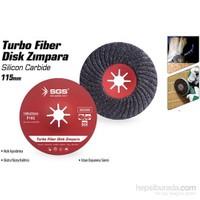 SGS Turbo Fiber Disk Zımpara 115 mm 375543