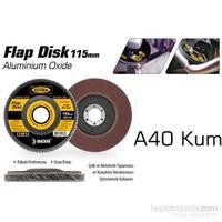 SGS Flap Disk A40 KUM 115 mm 375544
