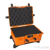 Mano Mtc 460C Turuncu - Yumurta Sünger + Kare Lazer Kesim Süngerli Tough Case Pro Takım Çantası