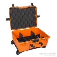 Mano Mtc 460Pl Turuncu - Yumurta Sünger + Plastik Bölmeli Tough Case Pro Takım Çantası