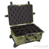 Mano Mtc 460P Yeşil - Yumurta Sünger + Bez Bölmeli Tough Case Pro Takım Çantası