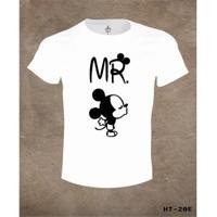 Lord T-Shirt Mr. Mickey Çift T-Shirt