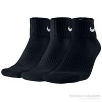 Nike Sx4703-001 Siyah 3Lü Çorap Seti