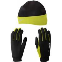 Nike Nrc00 023 Mens Dri Fit Koşu Eldiveni Bere Seti