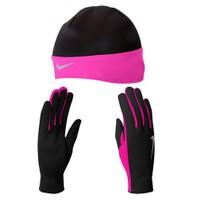 Nike Womens Dri Fit Koşu Eldiveni Bere Seti Nrc01 023