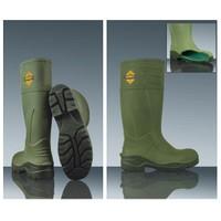 Akpolly Çizme Poliüretan Yeşil Çelik Burunlu+Çelik Tabanlı S5 F450 Akpolly 39 No
