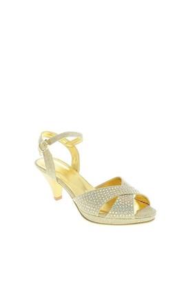 Despina Vandi Tnc 100-1 Kadın Abiye Taşlı Fantezi Ayakkabı