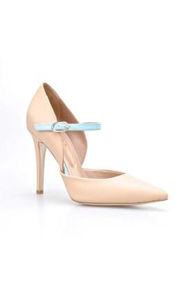 Cabani Bilekten Tokalı Günlük Kadın Ayakkabı Pembe Deri