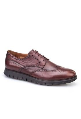 Cabani Extralight Oxford Günlük Erkek Ayakkabı Kahve Deri
