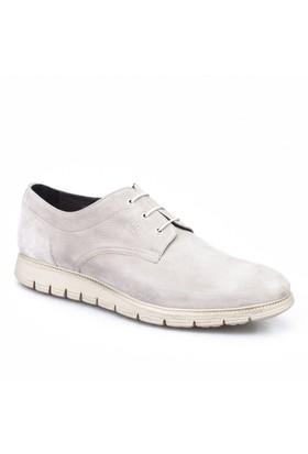 Cabani Oxford Günlük Erkek Ayakkabı Gri Nubuk