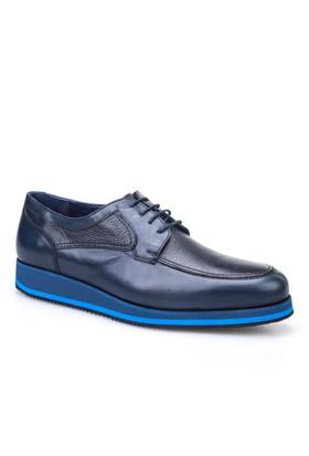Cabani Oxford Günlük Erkek Ayakkabı Lacivert Antik