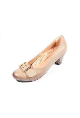 Capriss St11-11-481 Vizon Topuklu Ayakkabı