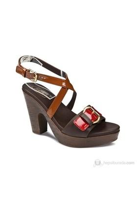 Ceyo 9900-2 Zenne Kadın Topuklu Ayakkabı
