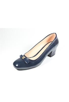 Capriss St11-11-467 Lacivert Rugan Topuklu Ayakkabı