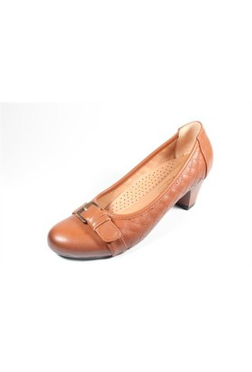 Capriss St11-11-480 Taba Topuklu Ayakkabı
