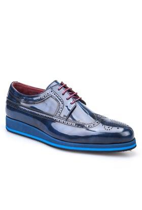 Cabani Oxford Günlük Erkek Ayakkabı Lacivert Açma Deri