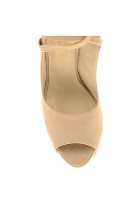 Derigo Kadın Klasik Topuklu Ayakkabı Ten