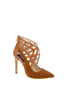 Derigo Kadın Topuklu Ayakkabı Taba