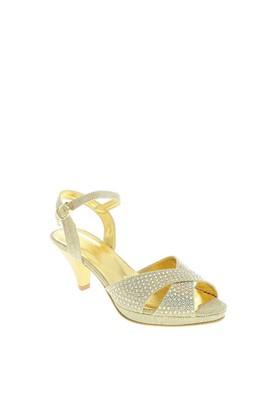 Despina Vandi Kadın Abiye Ayakkabı Tnc 100-1