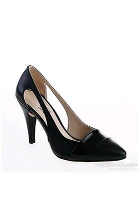 Derigo Kadın Topuklu Ayakkabı Siyah ...