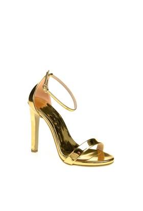 Derigo Kadın Klasik Topuklu Ayakkabı Dore