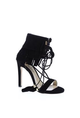 Derigo Kadın Klasik Topuklu Ayakkabı Siyah