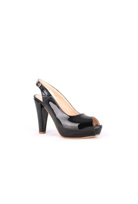 Loggalin 780324 035 020 Kadın Siyah Platform Ayakkabı