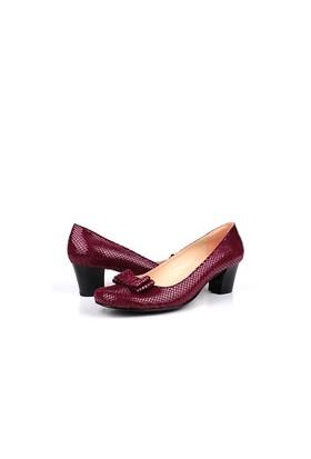 Loggalin 375024 031 626 Kadın Bordo Günlük Ayakkabı