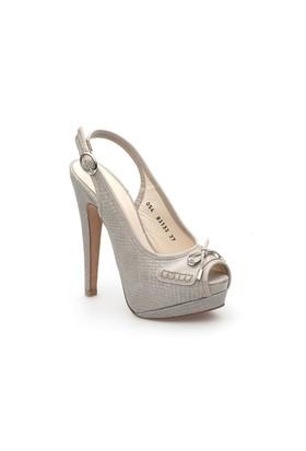 Pedro Camino Kadın Klasik Ayakkabı 83133 Gri