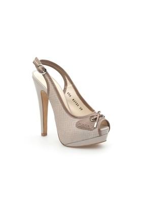 Pedro Camino Kadın Klasik Ayakkabı 83133 Bej