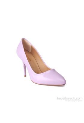 Loggalin Kadın Topuklu Ayakkabı Lila