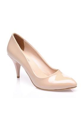Sothe Mas-017 Ten Kadın Klasik Topuklu Ayakkabı