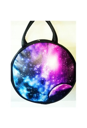 Köstebek Nebula Postacı Yuvarlak Çanta Kypç002