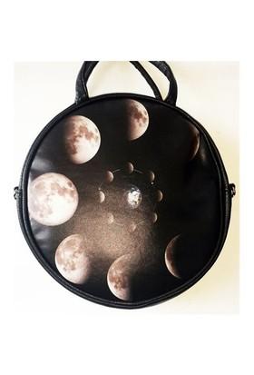 Köstebek Big Moon Postacı Yuvarlak Çanta Kypç016