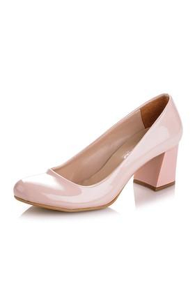 Sothe MAS-016 Pudra Bayan Klasik Topuklu Ayakkabı
