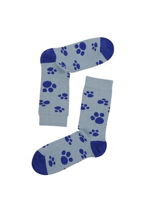 The Socks Company Foot Steps Desenli Kadın Çorap 36-40 Numara