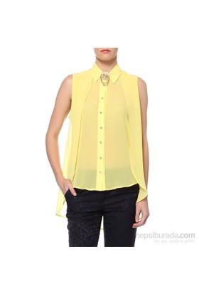 Sense Kadın Gömlek Sarı