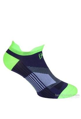 Norfolk Kadın Mor Koşu Çorabı