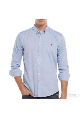 Develi Piramit Erkek Oxford Cepsiz Gömlek