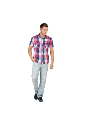 Colin's Fuşya Erkek Gömlek Kısa Kol