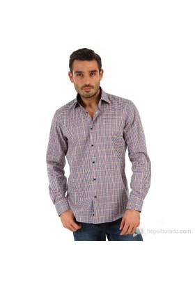 Tommy Hilfiger Erkek Tailored Gömlek Renkli
