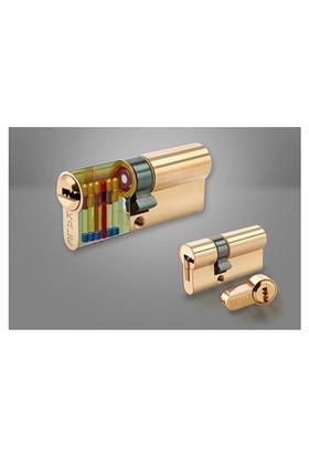 Kale Tuzaklı Sistem Çelik Pimli Silindir Saten 68Mm Silindir 26+10+32