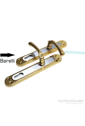 Eris Barelli Anahtarlı Kapı Kolu 091337G