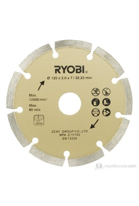 Ryobi Agdd125a1 Elmas Kesme Diski