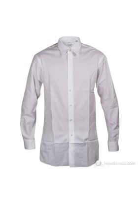 Calvin Klein Erkek Regular Gömlek Beyaz