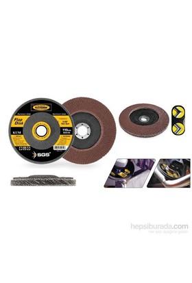 SGS 115 mm A40 Kum Flap Disk Zımpara 090881