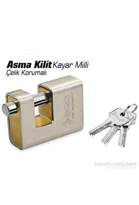 SGS Security 7 cm Çelik Korumalı Kayar Milli Asma Kilit
